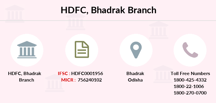 Hdfc-bank Bhadrak branch