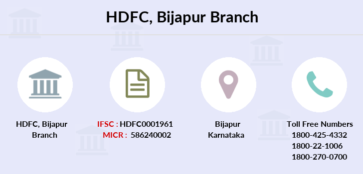 Hdfc-bank Bijapur branch