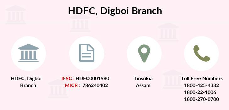 Hdfc-bank Digboi branch