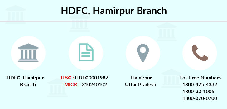 Hdfc-bank Hamirpur branch