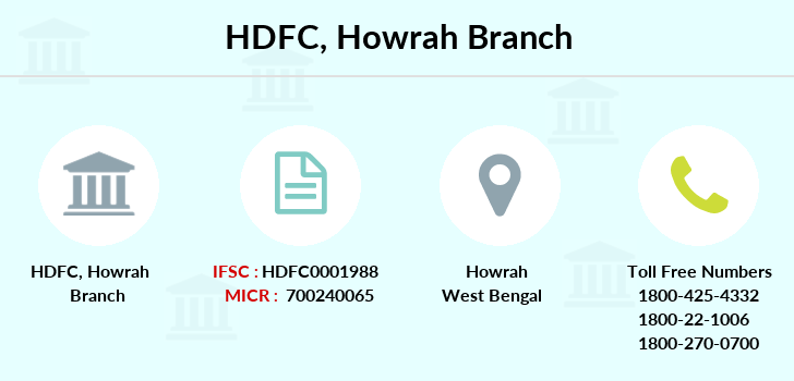 Hdfc-bank Howrah branch
