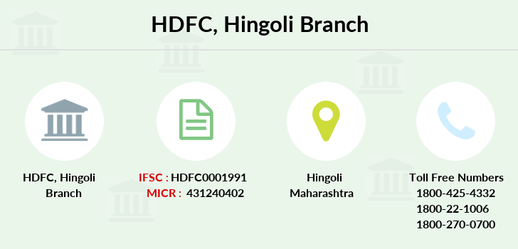 Hdfc-bank Hingoli branch