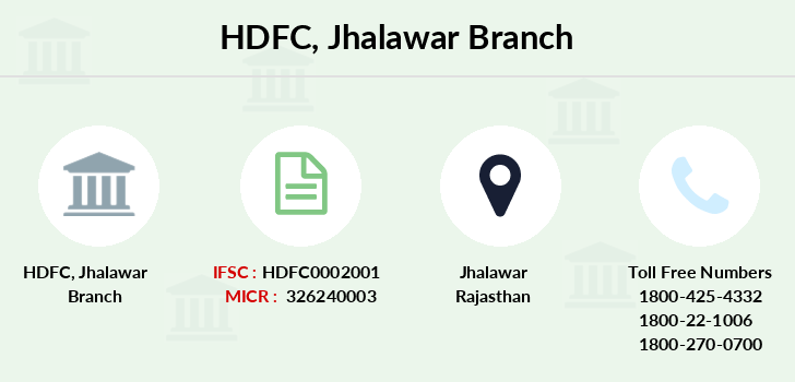 Hdfc-bank Jhalawar branch