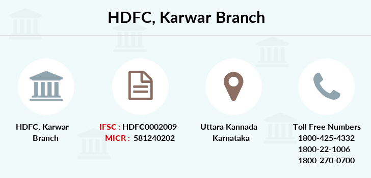 Hdfc-bank Karwar branch