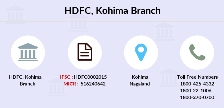 Hdfc-bank Kohima branch