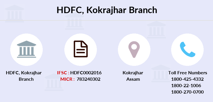 Hdfc-bank Kokrajhar branch