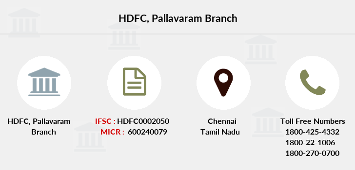 Hdfc-bank Pallavaram branch