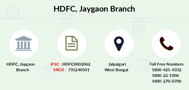 Hdfc-bank Jaygaon branch