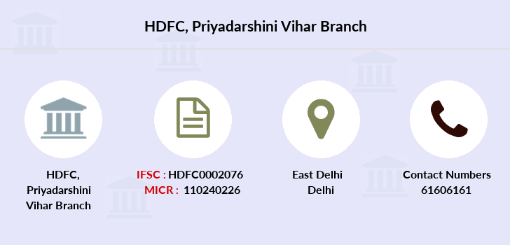 Hdfc-bank Priyadarshini-vihar branch