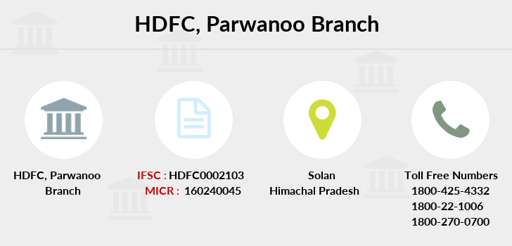 Hdfc-bank Parwanoo branch