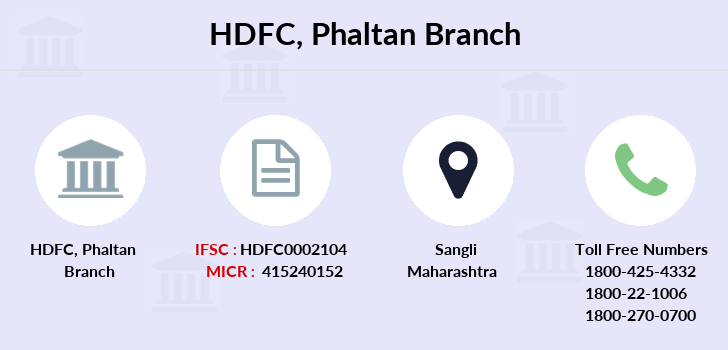 Hdfc-bank Phaltan branch