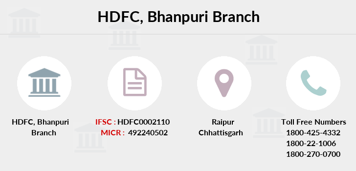 Hdfc-bank Bhanpuri branch