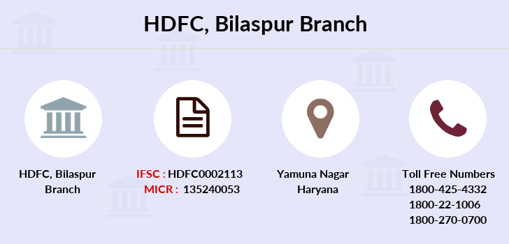 Hdfc-bank Bilaspur branch