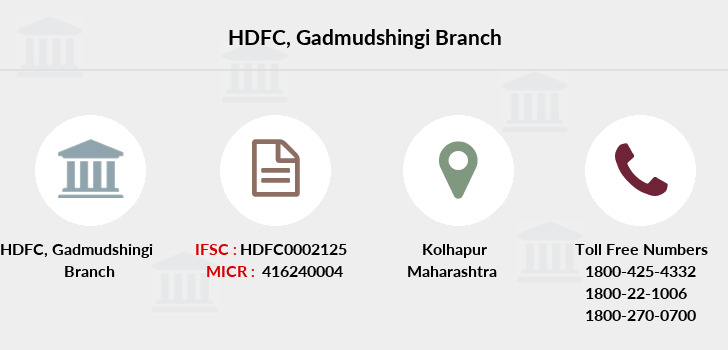 Hdfc-bank Gadmudshingi branch