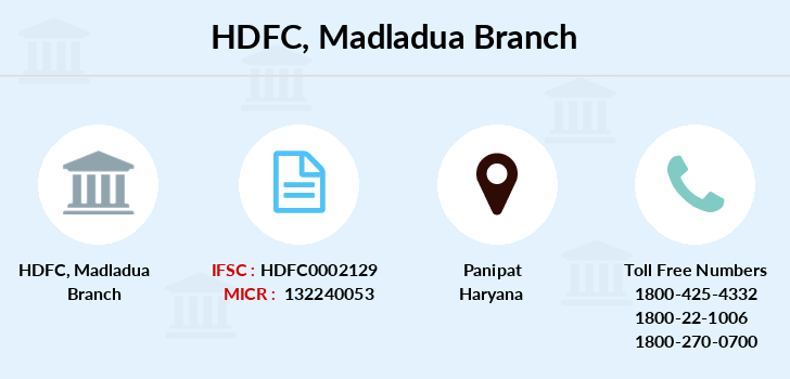 Hdfc-bank Madladua branch