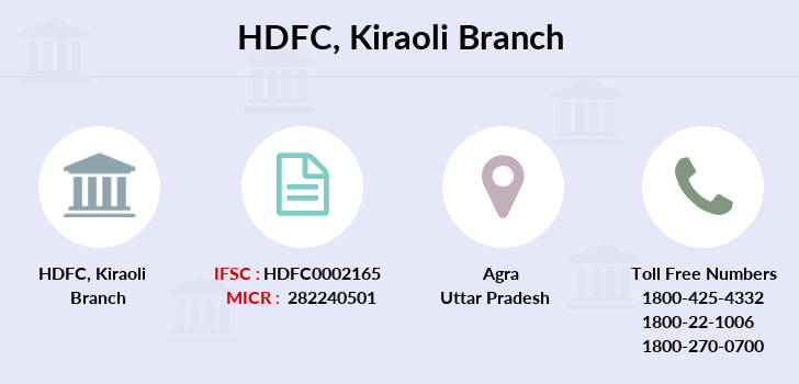Hdfc-bank Kiraoli branch
