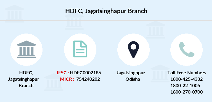 Hdfc-bank Jagatsinghapur branch