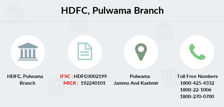 Hdfc-bank Pulwama branch