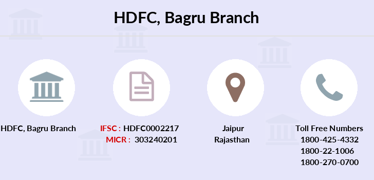 Hdfc-bank Bagru branch