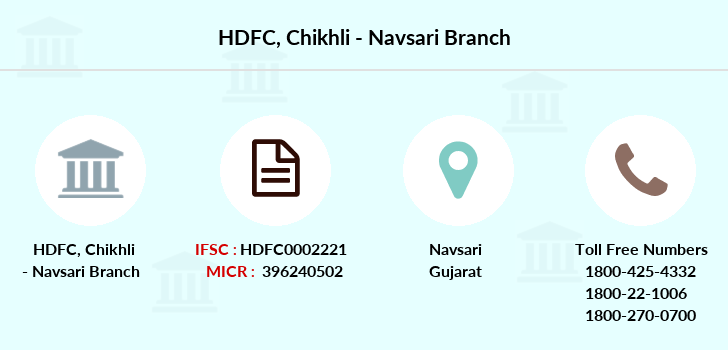 Hdfc-bank Chikhli-navsari branch