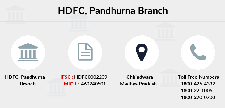 Hdfc-bank Pandhurna branch