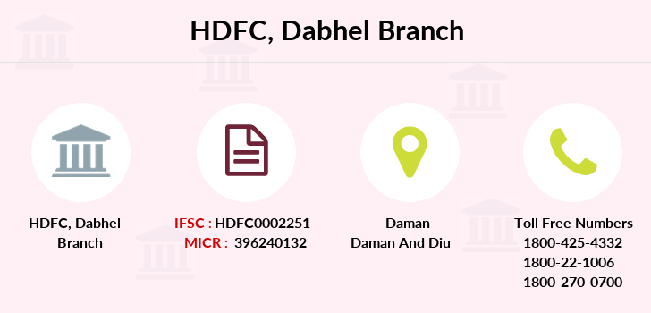 Hdfc-bank Dabhel branch