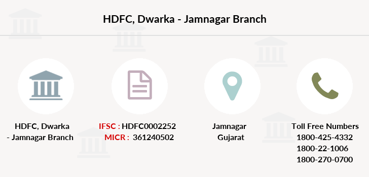 Hdfc-bank Dwarka-jamnagar branch