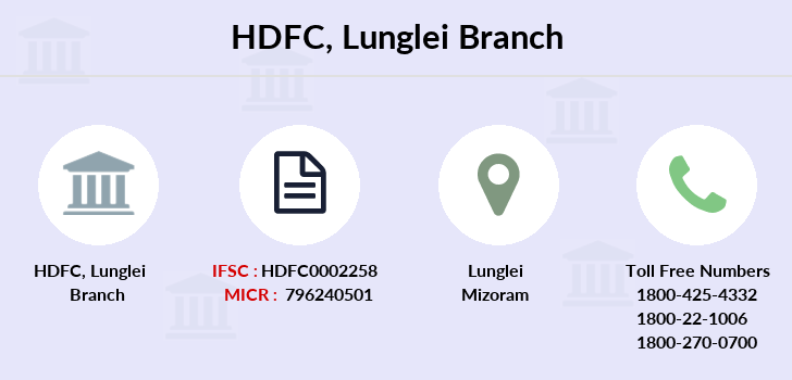 Hdfc-bank Lunglei branch