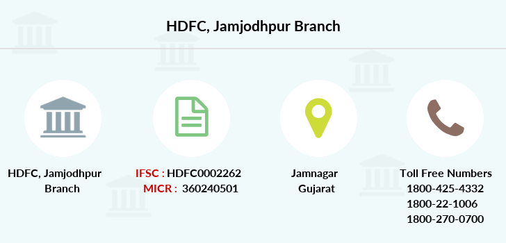 Hdfc-bank Jamjodhpur branch