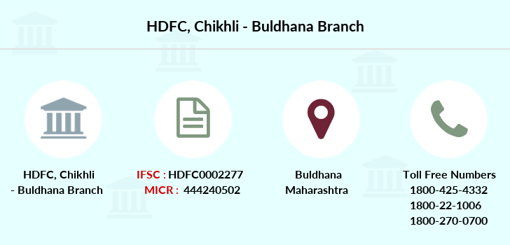 Hdfc-bank Chikhli-buldhana branch
