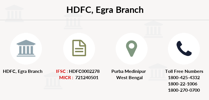 Hdfc-bank Egra branch