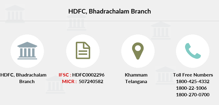 Hdfc-bank Bhadrachalam branch