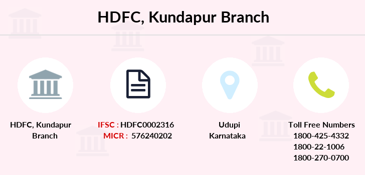 Hdfc-bank Kundapur branch