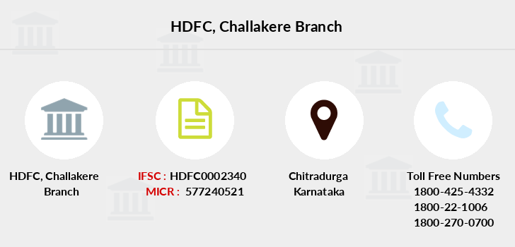 Hdfc-bank Challakere branch