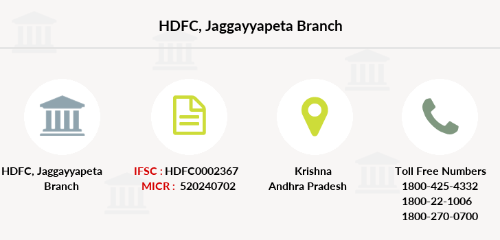 Hdfc-bank Jaggayyapeta branch