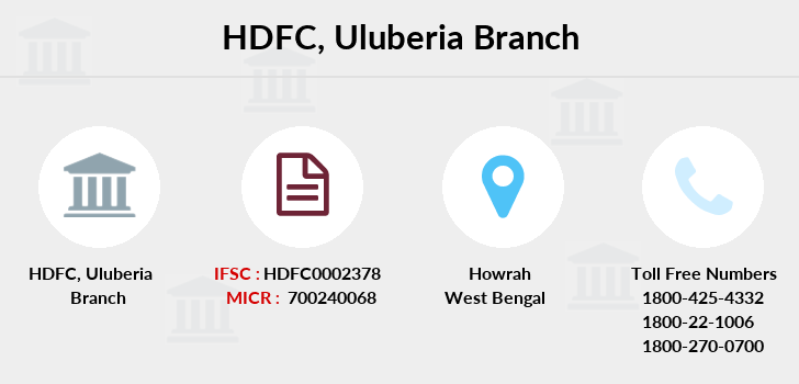 Hdfc-bank Uluberia branch