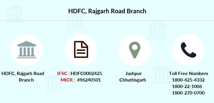 Hdfc-bank Rajgarh-road branch