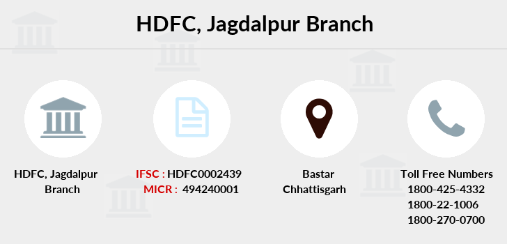 Hdfc-bank Jagdalpur branch