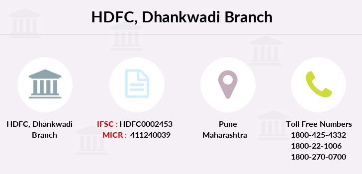 Hdfc-bank Dhankwadi branch