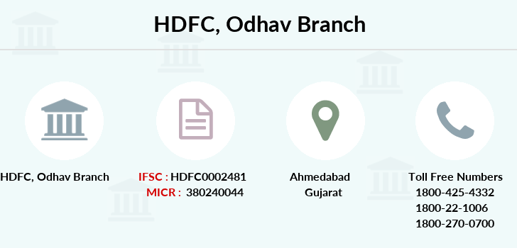 Hdfc-bank Odhav branch