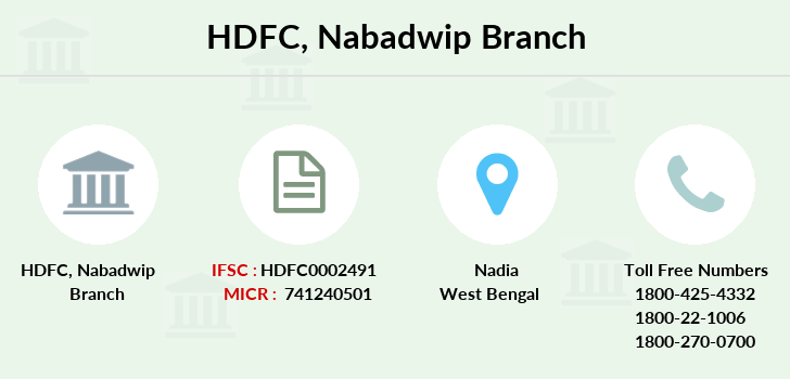 Hdfc-bank Nabadwip branch