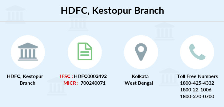 Hdfc-bank Kestopur branch