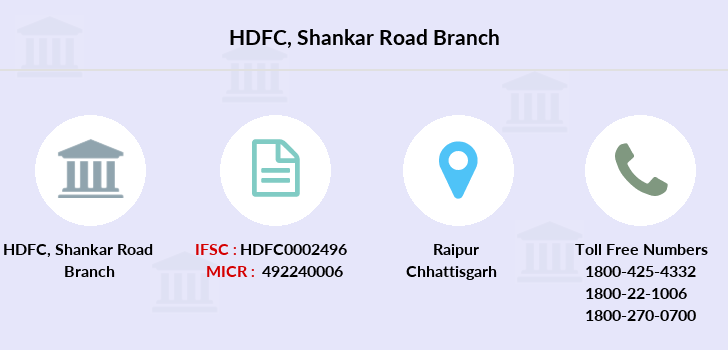 Hdfc-bank Shankar-road branch