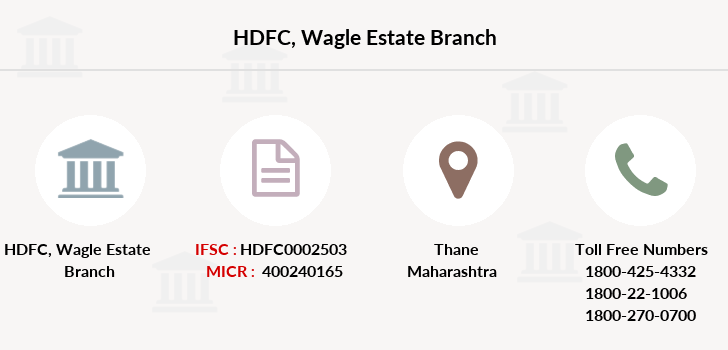 Hdfc-bank Wagle-estate branch