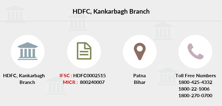 Hdfc-bank Kankarbagh branch