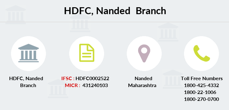 Hdfc-bank Nanded branch