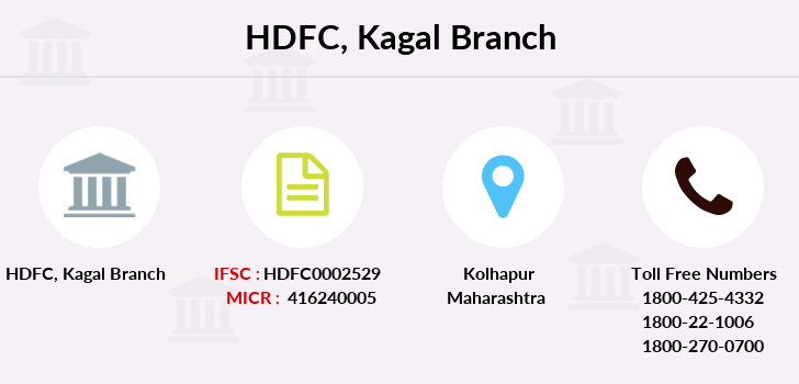 Hdfc-bank Kagal branch