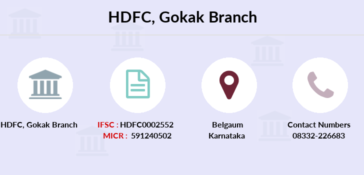 Hdfc-bank Gokak branch