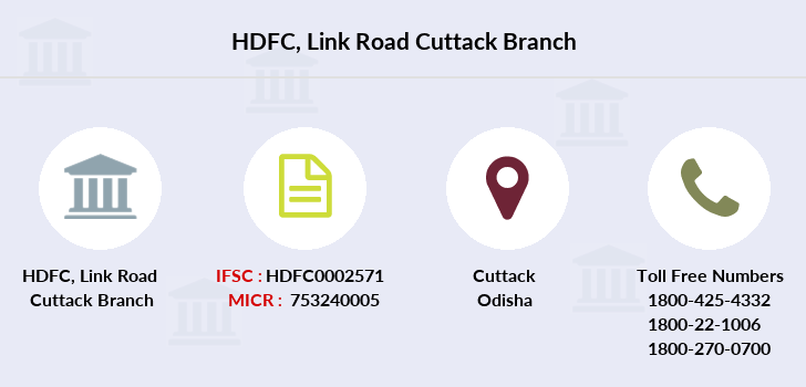 Hdfc-bank Link-road-cuttack branch