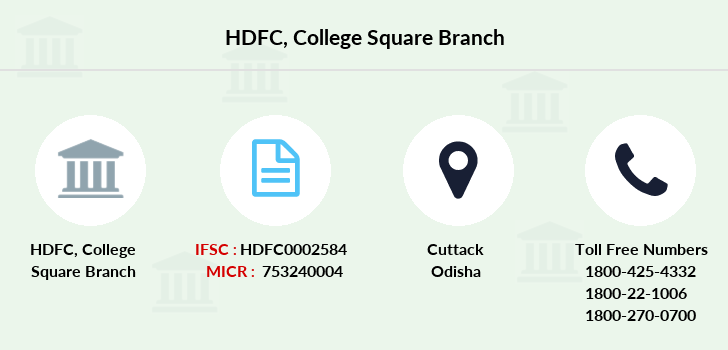 Hdfc-bank College-square branch
